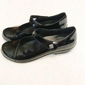 Dansko Opal Mary Janes Black size 39 / 9